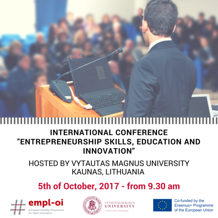 International Conference on « Entrepreneurship Skills, Education and Innovation »